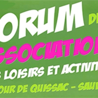 3 septembre  Forum des associations
