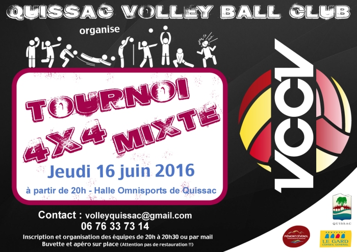 TOURNOI VOLLEY  2016