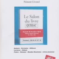 Salon du livre : le programme