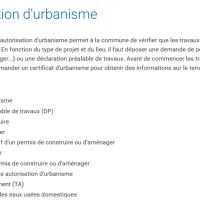 Urbanisme -Travaux - Risques