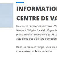 Gard : un nouveau centre de vaccination